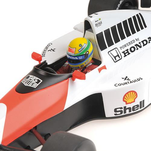 McLaren Honda MP4/5B - Ayrton Senna - World Champion 1990 - 1:18 Minichamps 540901827 – image 2