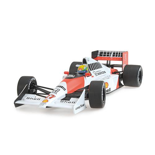 McLaren Honda MP4/5B - Ayrton Senna - World Champion 1990 - 1:18 Minichamps 540901827 – Bild 3