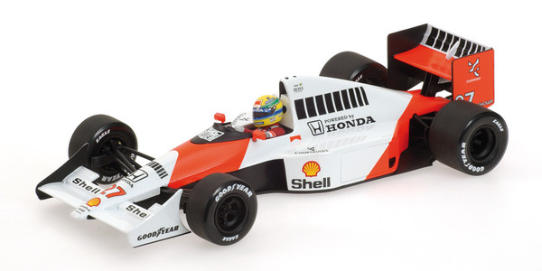 McLaren Honda MP4/5B - Ayrton Senna - World Champion 1990 - 1:18 Minichamps 540901827 – Bild 1