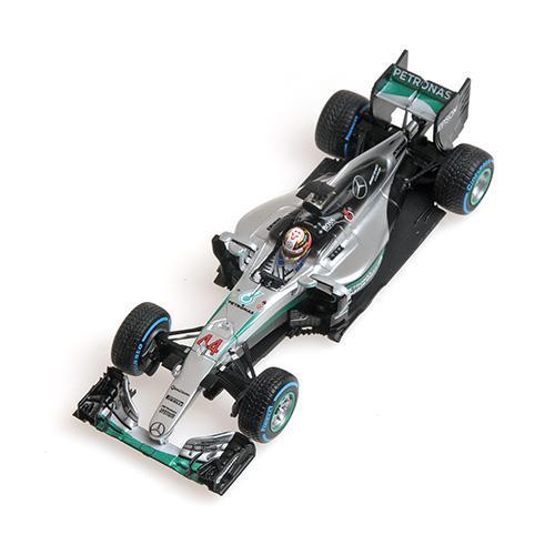 Mercedes AMG Petronas Hamilton Brasilien 2016 F1 Team W07 Hybrid Winner Brazilian GP L.E. 420 pcs. 1:43 Minichamps 417160644 – image 3