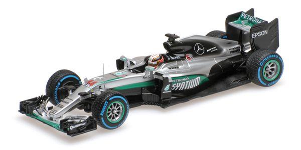 Mercedes AMG Petronas Hamilton Brasilien 2016 F1 Team W07 Hybrid Winner Brazilian GP L.E. 420 pcs. 1:43 Minichamps 417160644 – Bild 1