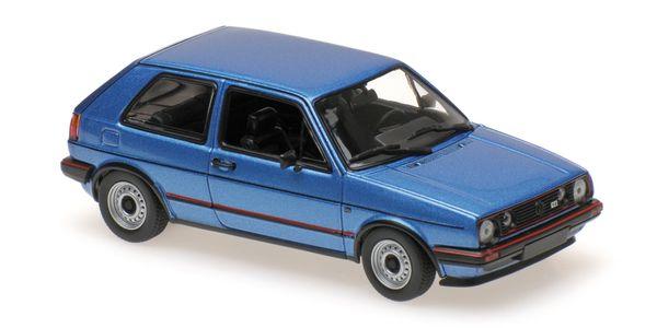VOLKSWAGEN GOLF GTI - 1985 - BLUE METALLIC – Bild 1