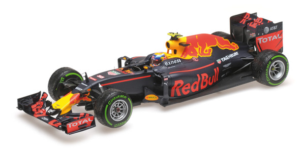 Red Bull Racing RB12 Tag Heuer – Max Verstappen 3rd Place Brazilian GP 2016 – L.E. 750 pcs – Bild 1