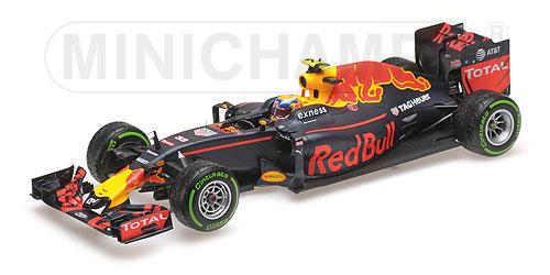 Red Bull Racing 1:18 Verstappen Brasilien 2016 RB12 Tag Heuer - MAX VERSTAPPEN - 3RD PLACE BRAZILIAN GP 2016 L.E. 750 pcs. Minichamps 117161233 – image 1