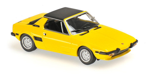 FIAT X1/9 - 1974 - 1:43 YELLOW gelb Maxichamps 940121660