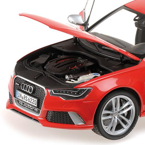 AUDI RS6 AVANT - 2013 - 1:18 rot red Minichamps 110012011 – Bild 5