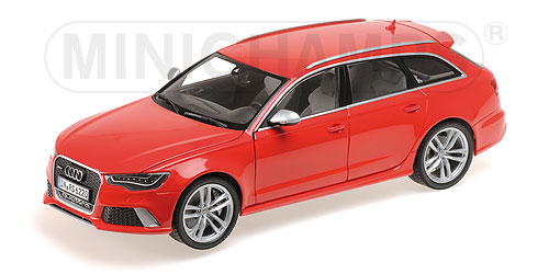 AUDI RS6 AVANT - 2013 - 1:18 rot red Minichamps 110012011 – Bild 2