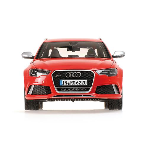 AUDI RS6 AVANT - 2013 - 1:18 red Minichamps 110012011 – image 6