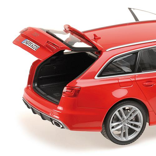 AUDI RS6 AVANT - 2013 - 1:18 red Minichamps 110012011 – image 3