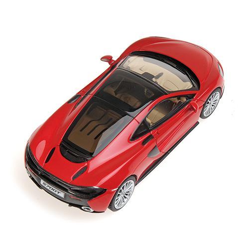 McLaren 570 GT  L.E.100 pcs.1:43 vermillion red rot Minichamps 537154522 – image 2