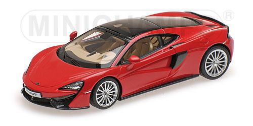 McLaren 570 GT  L.E.100 pcs.1:43 vermillion red rot Minichamps 537154522 – image 1
