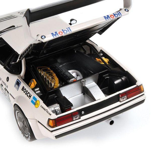 BMW M1 PROCAR - BMW ITALIA - ELIO DE ANGELIS - WINNER PROCAR SERIES ZOLDER 1979 L.E. 402 pcs. Minichamps 180792961 – image 2