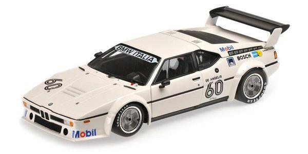 BMW M1 PROCAR - BMW ITALIA - ELIO DE ANGELIS - WINNER PROCAR SERIES ZOLDER 1979 L.E. 402 pcs. Minichamps 180792961 – Bild 1