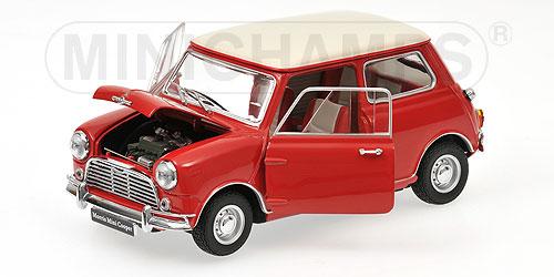 Morris Mini Cooper MK-1 - 1:18 - rot red Kyosho KYO8108R0 – Bild 2