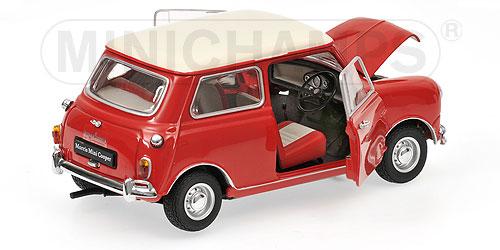Morris Mini Cooper MK-1 - 1:18 - rot red Kyosho KYO8108R0 – Bild 3