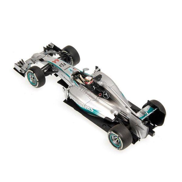 Mercedes AMG Petronas F1 Team W05 - Lewis Hamilton - Winner Bahrain GP 2014 L.E. 680 pcs. Minichamps 410140244 – image 3