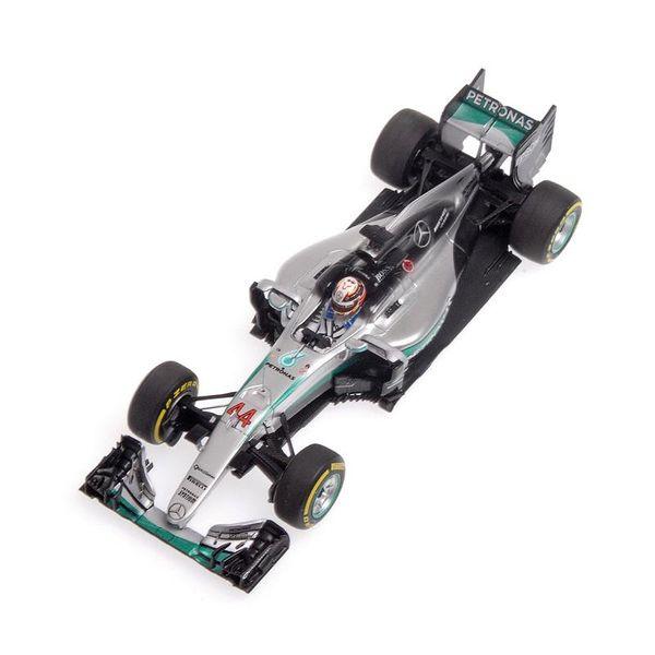 Mercedes AMG Petronas F1 Team - W07 Hybrid - Lewis Hamilton - Winner Abu Dhabi GP 2016 L.E. 500 pcs. 1:43 Minichamps 417160744 – image 2