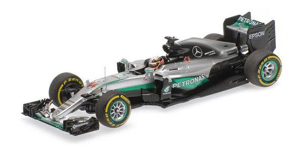 Mercedes AMG Petronas F1 Team - W07 Hybrid - Lewis Hamilton - Winner Abu Dhabi GP 2016 L.E. 500 pcs. 1:43 Minichamps 417160744 – image 1