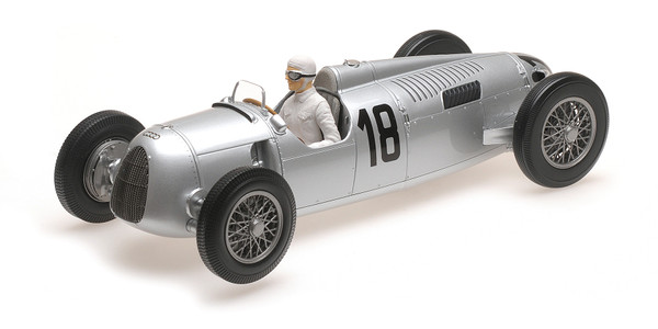 AUTO UNION TYP C - BERND ROSEMEYER - WINNER INTERNATIONALES EIFELRENNEN 1936 L.E. 1002 pcs.