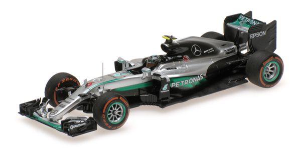 Mercedes AMG Petronas F1 Rosberg Winner Japan 2016 - F1 W07 Hybrid - Nico Rosberg - Winner Japanese GP 2016 Minichamps 417160506 – image 1