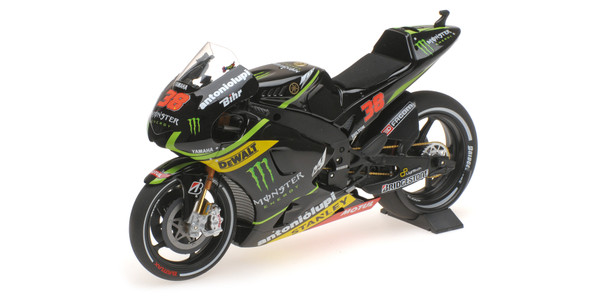 YAMAHA YZR-M1 - MONSTER YAMAHA TECH3 - BRADLEY SMITH - MOTOGP 2014 Minichamps 122143038 – Bild 2