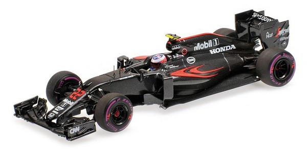 McLaren Honda MP4-31 - Jenson Button - Monaco GP 2016 L.E. 450 pcs. Minichamps 530164122