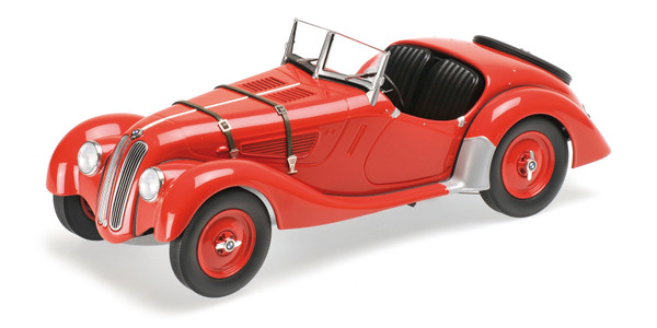 BMW 328 - 1936 - RED - 1:18 - Minichamps 155025031