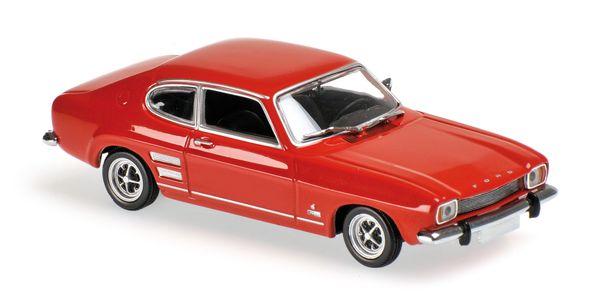 FORD CAPRI - 1969 - RED - 1:43 - Maxichamps 940085500