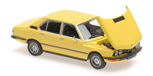 BMW 520 - 1972 - yellow gelb - 1:43 - Maxichamps 940023001 – Bild 1