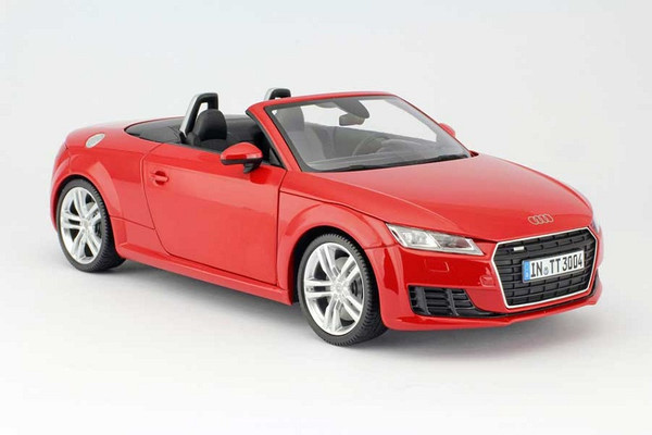 Audi TT 8S Cabrio Roadster Tango Rot 2014 Minichamps 1:18 Original Audi Collection – Bild 1