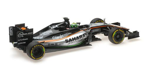 SAHARA FORCE INDIA F1 TEAM MERCEDES VJM09 - NICO HÜLKENBERG - 2016 Minichamps 117160027 – Bild 5
