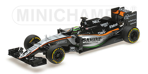 SAHARA FORCE INDIA F1 TEAM MERCEDES VJM09 - NICO HÜLKENBERG - 2016 Minichamps 117160027 – Bild 2