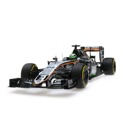 SAHARA FORCE INDIA F1 TEAM MERCEDES VJM09 - NICO HÜLKENBERG - 2016 Minichamps 117160027 – Bild 6