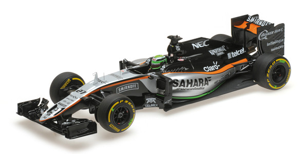 SAHARA FORCE INDIA F1 TEAM MERCEDES VJM09 - NICO HÜLKENBERG - 2016 Minichamps 117160027 – Bild 7