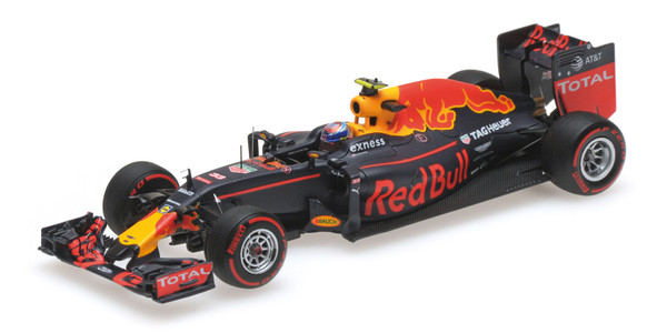 RED BULL RACING TAG HEUER RB12 - MAX VERSTAPPEN - 3RD PLACE GERMAN GP 2016 L.E. 1000 pcs.