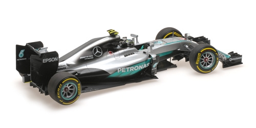 MERCEDES AMG PETRONAS FORMULA ONE TEAM F1 W07 HYBRID - ROSBERG - WORLD CHAMPION ABU DHABI GP 2016 – Bild 3