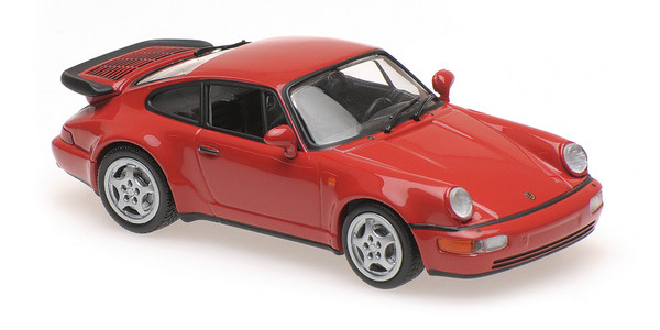 PORSCHE 911 TURBO (964) - 1990 - RED
