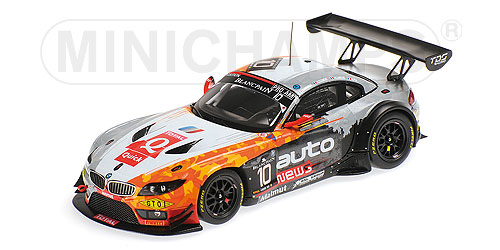 BMW Z4 GT3 - TEAM TDS RACING - ARMINDO/CLEMENT/LARICHE/PLA - 24H SPA 2014 L.E. 514 pcs.