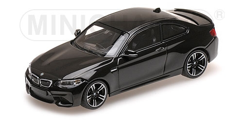 BMW M2 - 2016 - SCHWARZ BLACK METALLIC L.E. 504 pcs. Minichamps 410026101
