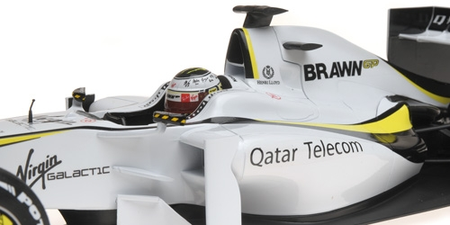 BRAWN GP BGP001 - JENSON BUTTON - WORLD CHAMPION 2009 – Bild 3