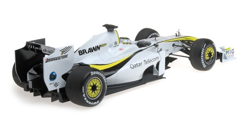 BRAWN GP BGP001 - JENSON BUTTON - WORLD CHAMPION 2009 – Bild 5