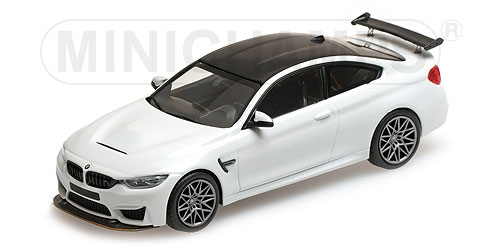 BMW M4 GTS - 2016 - WHITE W/ GREY WHEELS L.E. 336 pcs. SOLD OUT AT MINICHAMPS 410025221 – Bild 1