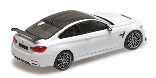 BMW M4 GTS - 2016 - WHITE W/ GREY WHEELS L.E. 336 pcs. SOLD OUT AT MINICHAMPS 410025221 – Bild 2
