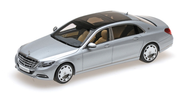 MERCEDES-BENZ S-CLASS MAYBACH - 2016 - IRIDIUM SILVER L.E. 1506 pcs.