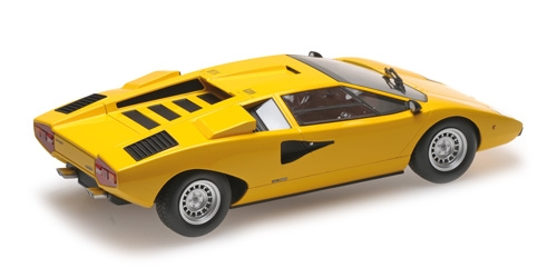 LAMBORGHINI COUNTACH LP400 - YELLOW (C09531Y) – Bild 2