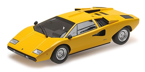 LAMBORGHINI COUNTACH LP400 - YELLOW (C09531Y) – Bild 1