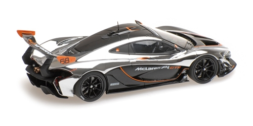 MCLAREN P1 GTR - CHROME AND GLOSS BLACK L.E. 1504 pcs. – Bild 3