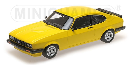 FORD CAPRI 3,0 - 1978 - YELLOW – Bild 1