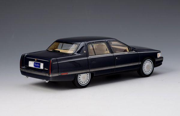 Cadillac Sedan DeVille 1994 blau – Bild 4