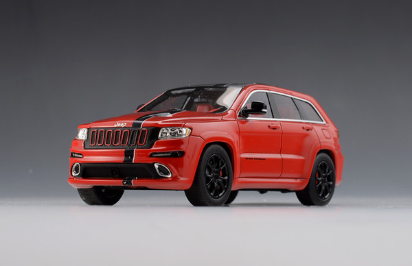 Jeep Grand Cherokee SRT8 Formula 1 Version SRT8 4x4 2012 red black – image 3